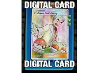 FA Blaine/'s Last Stand ptcgo in Game Card for Pokemon TCG Online Full Art
