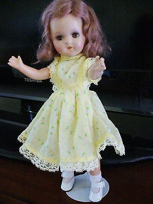 """VINTAGE Madame Alexander 13"""" WENDY ANN Composite Doll"""