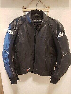 Joe Rocket Racing Motorcycle leather jacket Mens Medium size 42 Great Condition Joe Rocket Racing Leathers