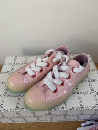Jw anderson toy pink converse size eu 37 uk 4.5