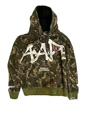 Aape Green Camo Hoodie for sale  Shipping to India
