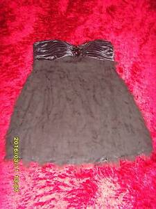 City Chic Feathered Boob Dress Size Small Augustine Heights Ipswich City Preview