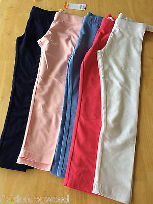 NWT Gymboree Girl Classic Leggings Navy Blue White Pink Hot Pink Blue Many sizes - Hot Girl Leggings