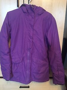 Girl's Purple Firefly Winter Jacket