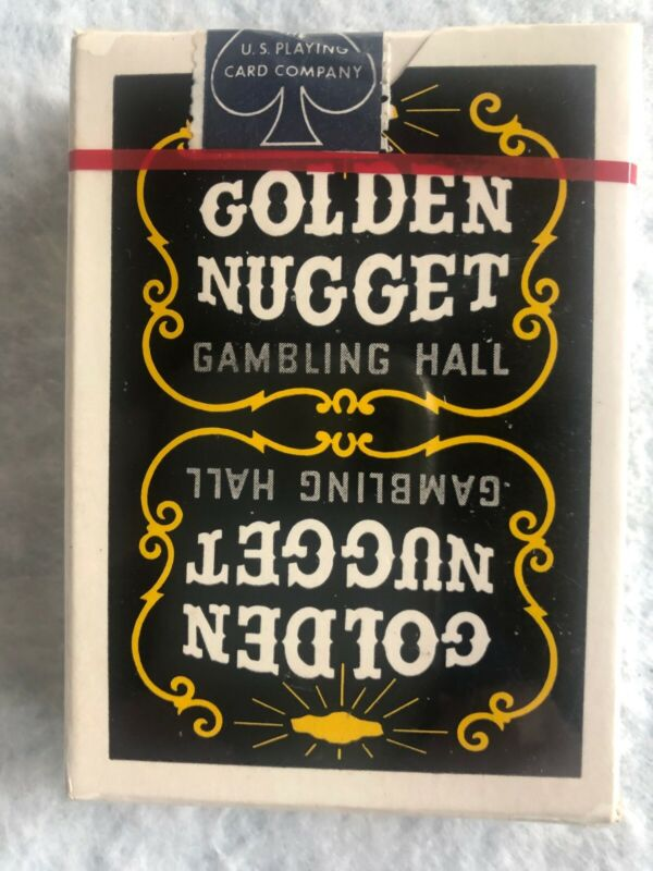 Vintage Golden Nugget Playing Cards SEALED