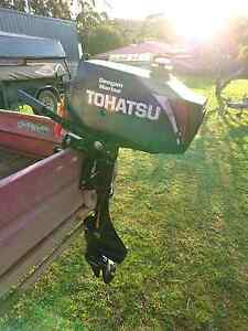 3.5HP TOHATSU 2 stroke, short shaft, outboard Penguin Central Coast Preview
