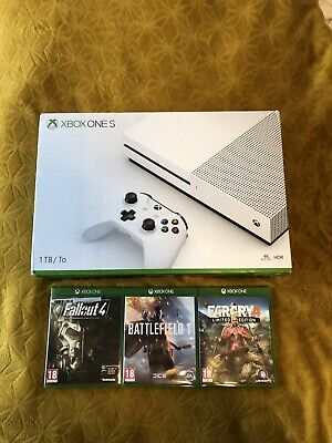 Boxed Xbox One S 1TB Console Bundle