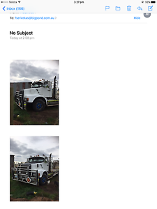 Volvo n12 9 m tray  rego Cleveland Redland Area Preview