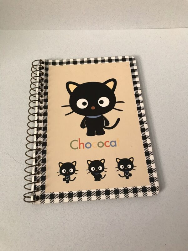 Sanrio Chococat Notepad - Barely Used. 2 Sheets Missing Out Of 35.