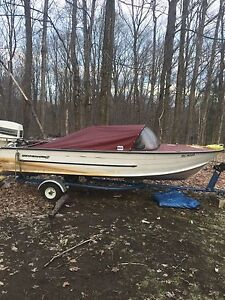Looking  to trade boat for sport bike.