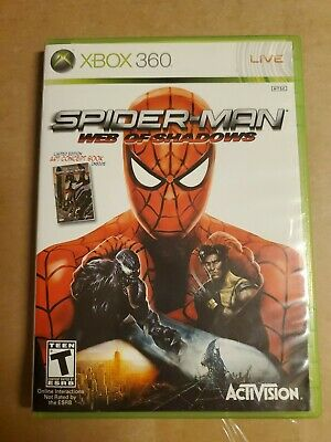 Spider-Man: Web of Shadows - Microsoft Xbox 360, 2008 - Art Included!