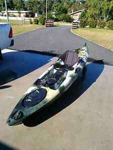 Fishing kayak Tarleton Latrobe Area Preview