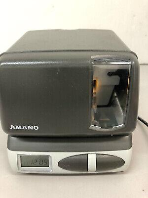 Amano Pix-10 Time Recorder Digital Punch Clock - No Key