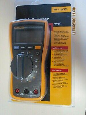 Fluke 115 True-rms Digital Multimeter. New