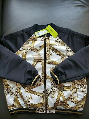 Versace Jean's Boroque  Gold  jacket size Large