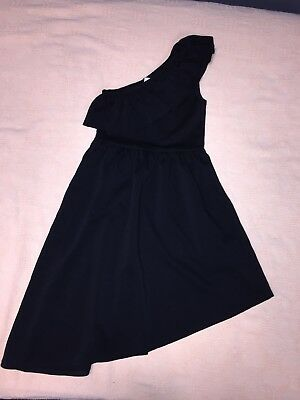 Abercrombie Kids Girls Black Off the Shoulder Dress Size XS 8 - Unique - Unique Kid Clothes