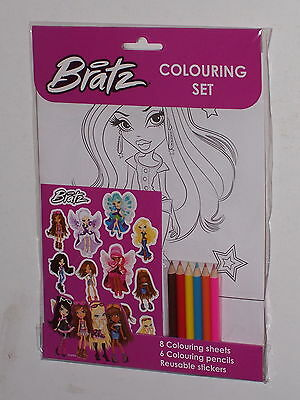 Bratz Colouring Set