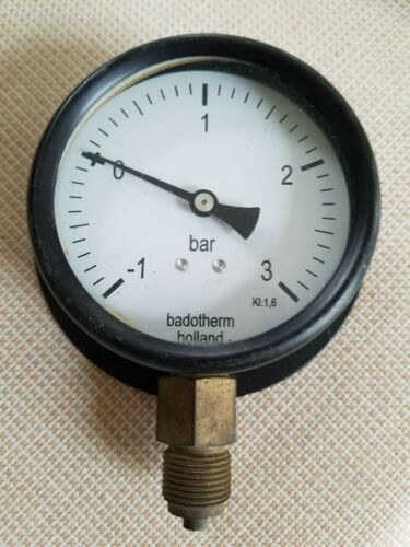 ss Norway ss France Engine Room Steam Pressure Gauge  w/ salvage document