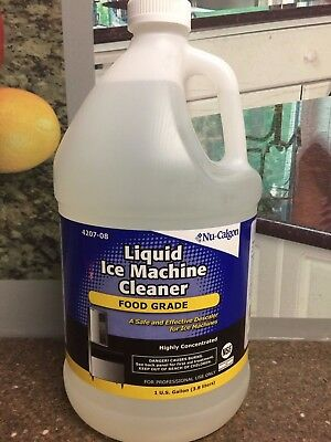 Nu-calgon 4207-08 1 Gallon Liquid Ice Machine Coffee Brewer Cleaner New Oem