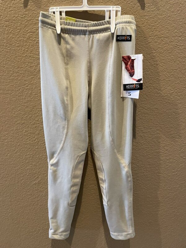 Kids Performance Riding Tights Beige Size Small