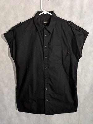 Cloak NYC Spring 2007 Runway Military Sleeveless Shirt XS Alexandre Plokhov