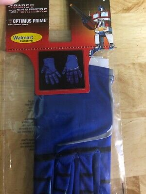 Optimus Prime Halloween Costume (Transformers Costume Optimus Prime Gloves for Costume New Childs)