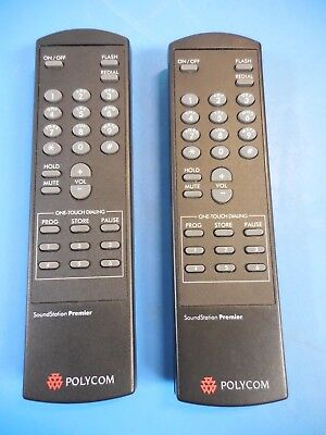 Polycom Soundstation Premier Remotes Lot Of 2