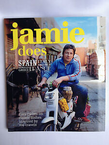 JAMIE OLIVER ~ JAMIE DOES SPAIN, ITALY, FRANCE, GREECE +++ COOKBOOK ~ BRAND NEW
