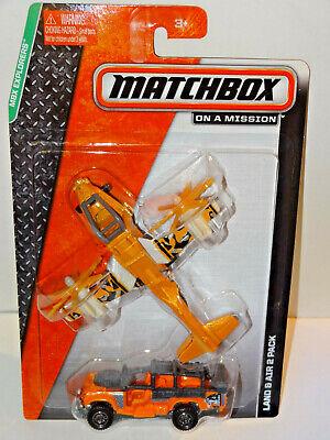 2014 MATCHBOX ON A MISSION LAND AIR EXPLORERS SAFARI SURVIVOR PLANE
