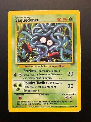 Carte Pokémon Saquedeneu 66/102 Set De Base