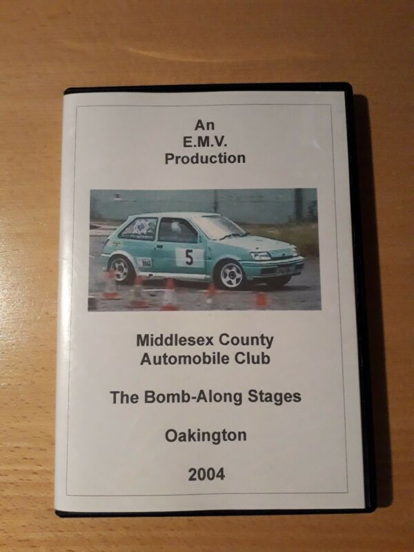 2004The+Bomb-Along+Stages+Rally+DVD+Oakington+Middlesex+County+Automobile+Club+