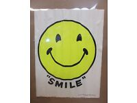 """24x36 /""""Snitz Takes a Smile/"""" Classic 1880s Comedy Theater Poster"""