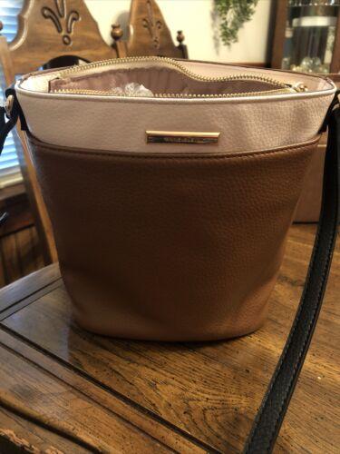 Anne Klein leather handbag