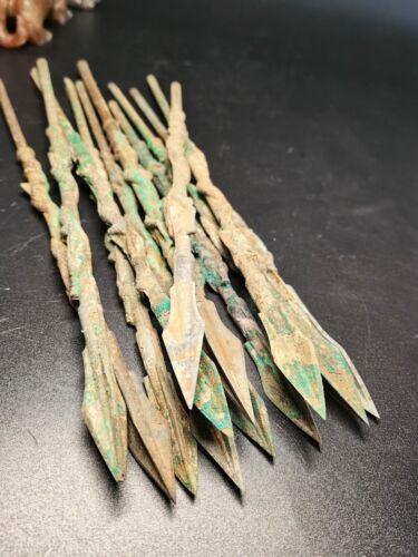 China Bronze arrowheads Crawling Dragon pattern Bronze Arrow heads