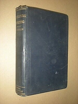 HYDROGRAPHICAL SURVEYING. MARINE CHARTS. WHARTON. 1898. HARDBACK. ILLUSTRATED Marine Charts
