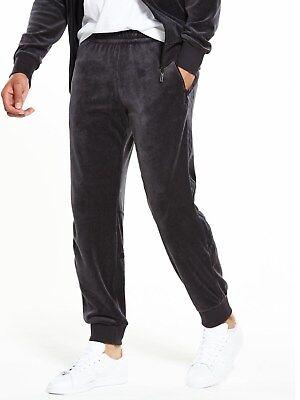 LARGE Adidas Originals Mens Challenger Velour Pants CLR84