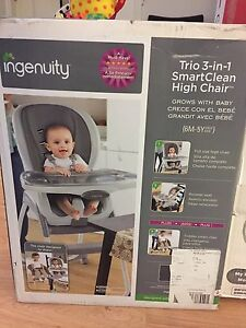 Ingenuity Trio 3-in-1 Smart Clean High Chair