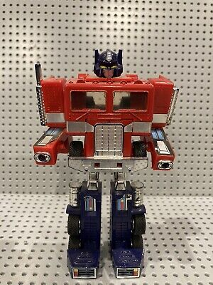 Vintage G1 Transformer Optimus Prime Figure~Cab Only~1984 Hasbro~Incomplete