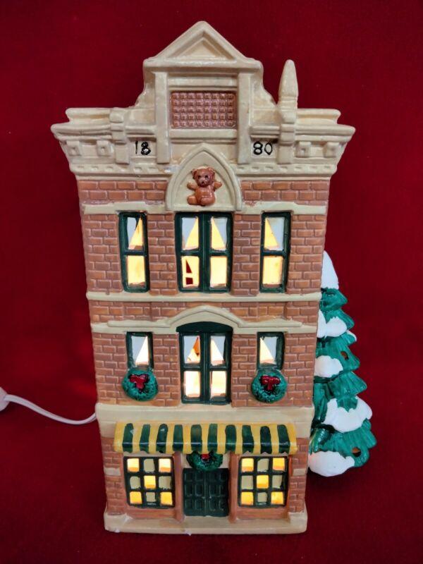 Department 56 Snow Village - Toy Shop - 1986 - 5073-3