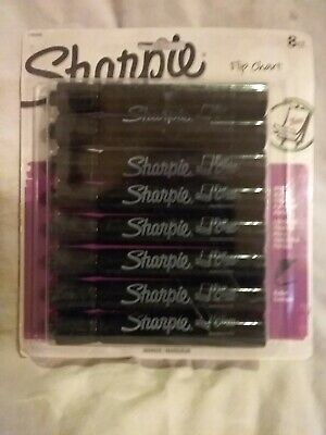 Sharpie 8 Count Flip Chart Marker Black 1760445