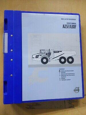 Volvo Construction Equipment A25fa30f Service Manual