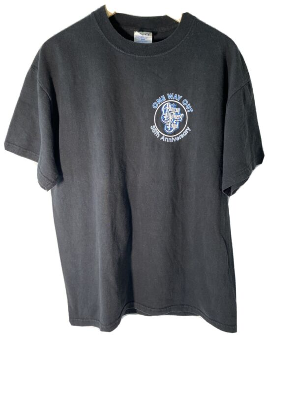 The Allman Brothers 2004 35th Anniversary New York City Beacon Theatre T-Shirt L