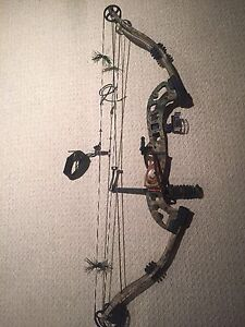 Jennings left hand compound hunting bow arc gaucher
