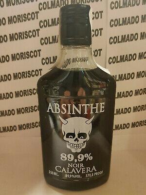 ABSENTA CALAVERA NOIR 89,9% 350ml 35cl 0,35L ABSINTHE ASSENZIO ABSENT ABSINTH