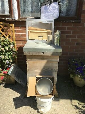 Bee Hive And Equipment Complete Set Up