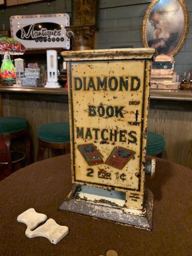 "1928 DIAMOND BOOK Match Vendor ""WATCH VIDEO"""