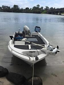 Polycraft Challenger 4.1 Side Console - great jack boat! Tweed Heads South Tweed Heads Area Preview