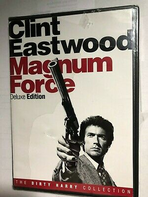 MAGNUM FORCE CLINT EASTWOOD DELUXE EDITION DVD THE DIRTY HARRY COLLECTION