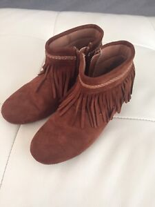 """Girls """"Suede"""" Boots"""