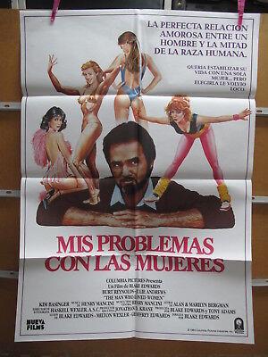 4364 Mis problemas con las mujeres Burt Reynolds,  Julie Andrews,  Kim Basinger,